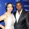 Derek Luke and wife Sophia @ SPARKLE NY Premiere