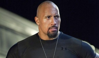 Dwayne Johnson Lays the 'Smack Down' on Some Mythical Creature's Ass?
