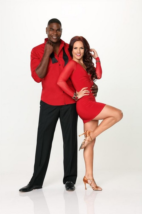 KEYSHAWN JOHNSON, SHARNA BURGESS