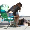 Emma Watson Gets Busy On The Bling Ring Set