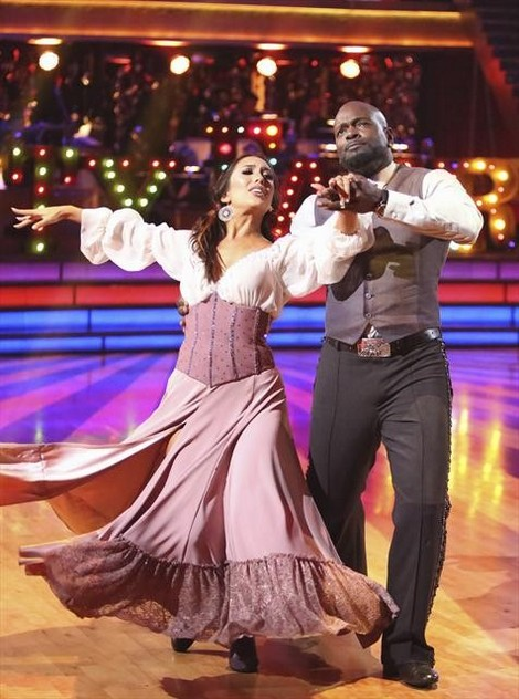 Emmitt Smith DWTS All-Stars Rumba/Samba Fusion Video 11/5/12