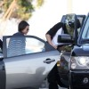 "Mila Kunis and Ashton Kutcher Out to See ""Batman"""