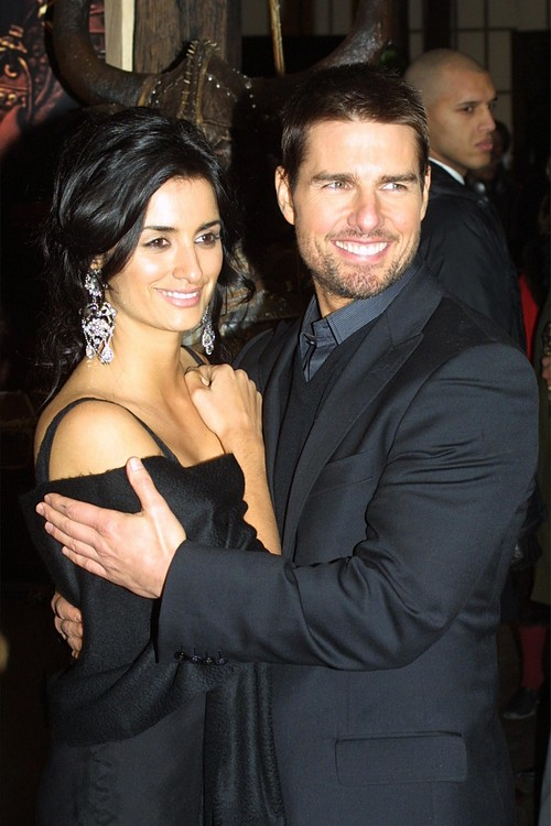 Tom Cruise and Penelope Cruz at 'Samurai' Premiere