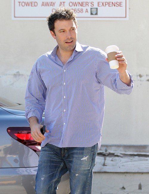Ben Affleck Takes His Parents To Violet's Karate Class