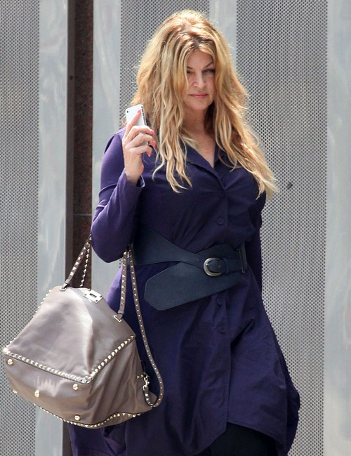 Semi-Exclusive... Kirstie Alley Heads To A Meeting