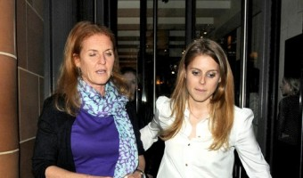 Sarah Ferguson, Prince Andrew And Princess Beatrice Have A Family Day in London (Photos)