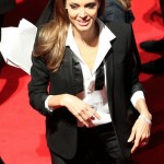 """Angelina Jolie Looked """"Too Skinny"""" At BAFTA Film Awards In London-Is She Anorexic? PHOTO HERE!"""