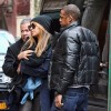 Beyone, Jay-Z And Daughter Blue Ivy Out For Lunch In New York