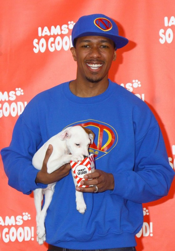 Nick Cannon Finding Comfort In The Dog House **FILE PHOTOS**
