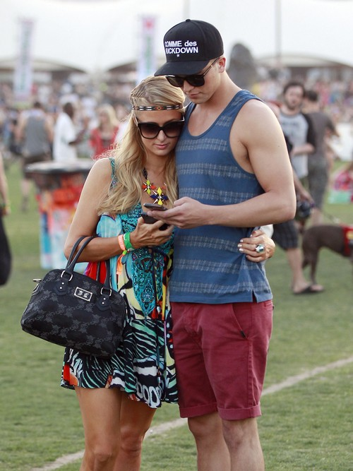 Coachella Music Festival Day 1 - Hilary Duff, Paris Hilton, Kellan Lutz, Alexander Skarsgard & More! (Photos)