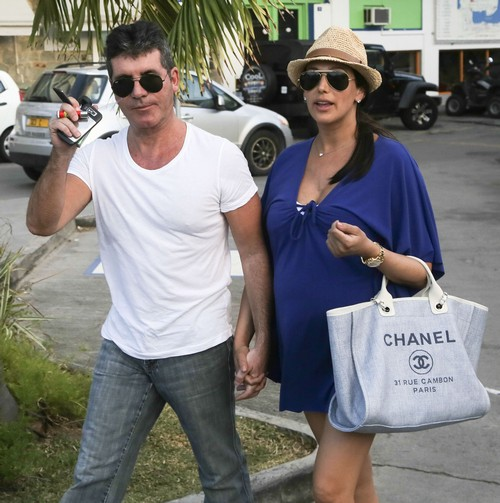 Simon Cowell Received A Special Valentine's Day Present This Year