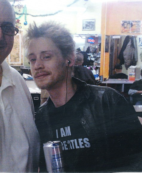 Macaulay Culkin Out and About Looking Healthier After Heroin Rumors