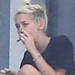 Miley Cyrus Photographed Smoking Pot (Photo)