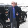 Clive Davis Arriving For A Flight At LAX