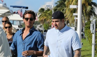 Scott Disick And Rob Kardashian Go For A Speed Boat Ride