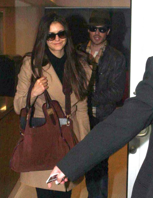 Ian Somerhalder and Nina Dobrev Traveling to China
