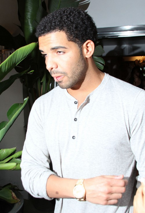 Drake Leaving The Villa Blanca Restaurant