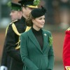 The Duke And Duchess Of Cambridge Attend The Irish Guards St Patrick's Day Parade at Mons Barracks