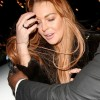 Lindsay Lohan Dines In London