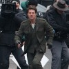 Tom Cruise Films 'All You Need Is Kill' In London
