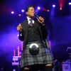 The Jacksons Perform In Glasgow