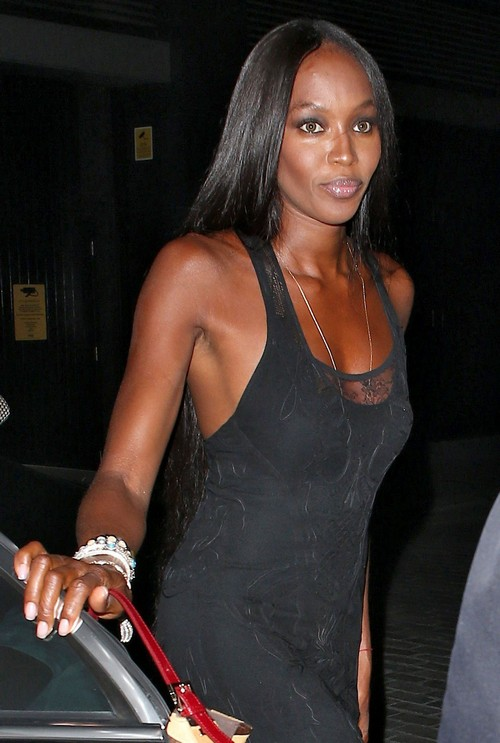 Naomi Campbell Hosts The 'Olympic Celebration Dinner'