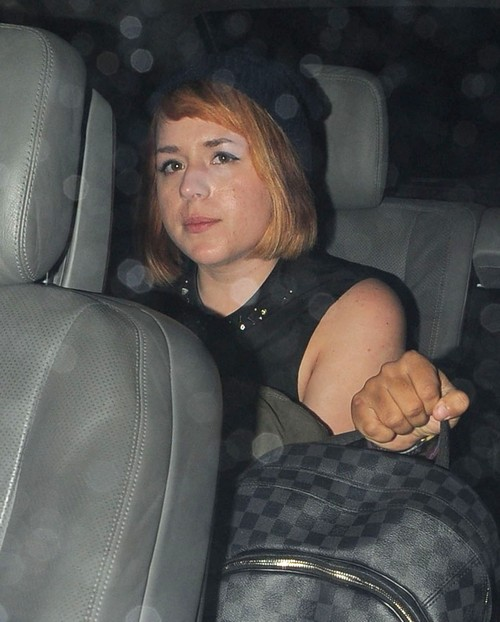 Connor & Isabella Cruise Leaving The Boujis Nightclub