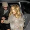 Jennifer Lopez & Casper Smart Returning To Their London Hotel