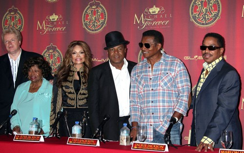 The Jackson Family Press Conference For Global Announcement