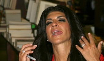 "Teresa Giudice Signs Copies Of Her New Book ""Fabulicious!:On The Grill"""