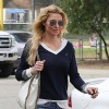 Brandi Glanville At Her Sons Baseball Game