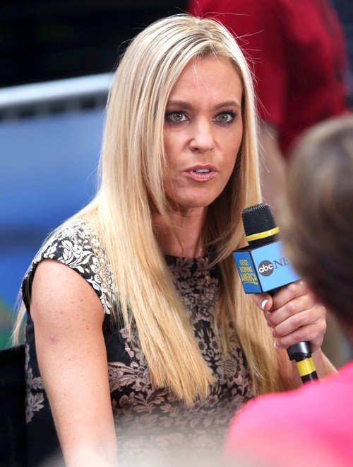 "Kate Gosselin Visits ""Good Morning America"""