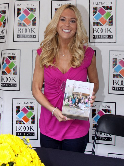 Kate Gosselin Promotes New Book in Baltimore