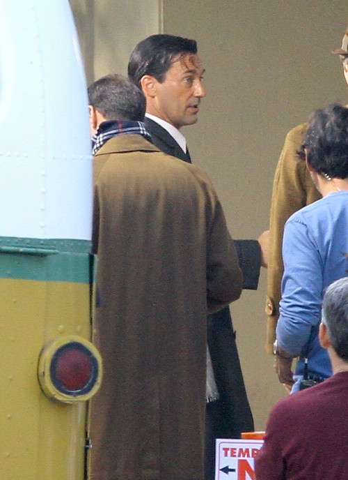"Jon Hamm on the Set of ""Mad Men"""