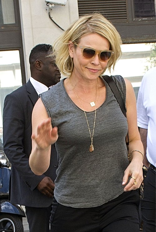 Chelsea Handler Drops By BBC Radio Two Studios