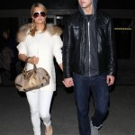 Paris Hilton and River Viiperi Arrive Back In LA (PHOTOS)