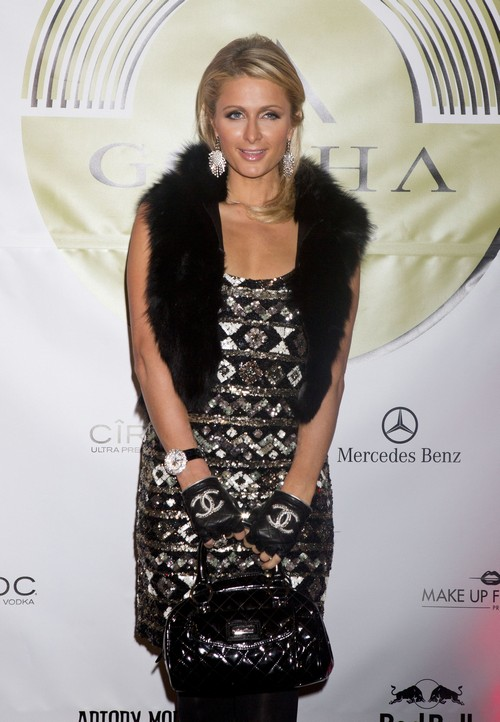 Exclusive... Paris Hilton & River Viiperi Attend Party In Brussels