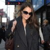 Katie Holmes Arrives For Her Last Performance Of &#039;Dead Accounts&#039;