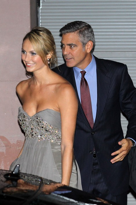 George Clooney Dumps WWF Girlfriend Stacy Keibler