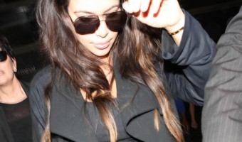 Kim Kardashian's Daughter Looks Just Like Her, With Dark Hair And Brown Eyes