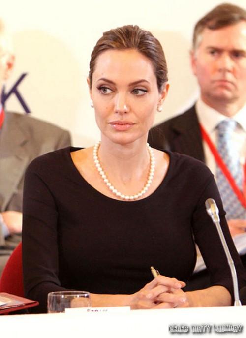 Angelina Jolie To Enter Politics - Report