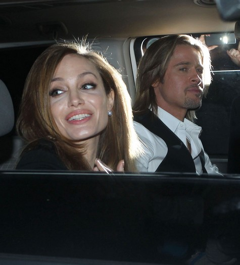 Brad Pitt and Angelina Jolies Engagement on the Rocks  Drug Abuse To Blame