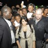 Kim Kardashian Is Warmly Greeted In Abidjan