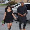 Kanye West &amp; Kim Kardashian Out In NYC