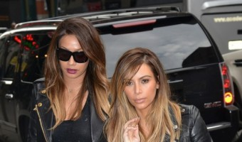 Kim Kardashian & LaLa Anthony Go To Lunch At ABC Kitchen