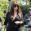 Pregnant Kim Kardashian Out For Lunch At Cecconi&#039;s