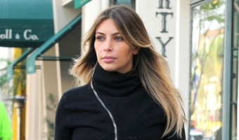 Kim Kardashian and Her New Face Went To Lunch At La Scala In Beverly Hills (Photos)
