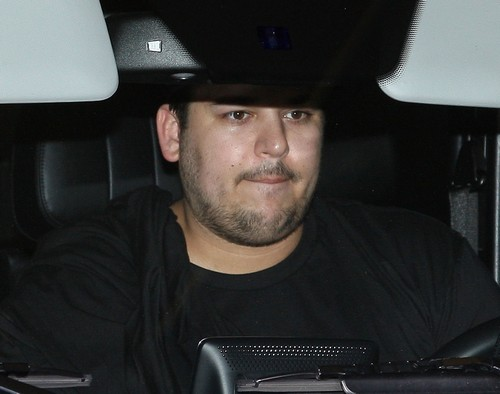 Rob Kardashian Hits The Gym