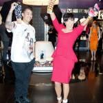 Kris Jenner and Son Rob Kardashian Party Like Rock Stars (Photos)