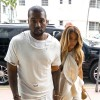 Kanye West & Kim Kardashian Shopping In Miami